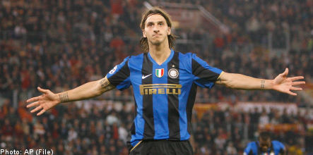 Ibrahimovic leaves Inter ahead of expected Barca signing