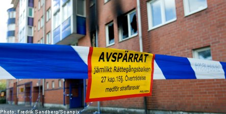 Six die in Stockholm apartment fire