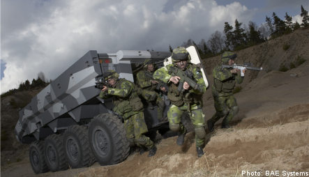 Swedish arms maker battles for lost contract