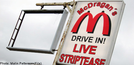 Swedish strip club continues McDonald's-inspired expansion