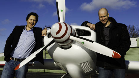 Prize-winning businessmen give the gift of experience