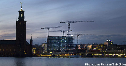 Early signs of recovery in Stockholm
