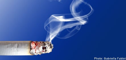 Woman affirmed right to smoke in own garden