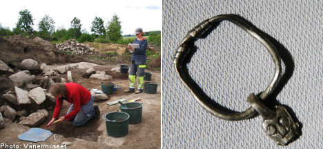 Swedish archaeologists uncover 7th century ship