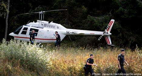 Helicopter heist: millions offered as reward for tips