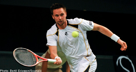 Söderling cruises into second round at Stockholm Open