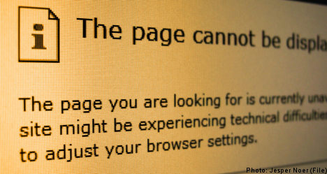 Police website falls victim to cyber attack