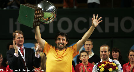 Baghdatis claims Stockholm Open crown