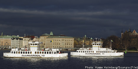 Stockholm suffers nearly sunless November