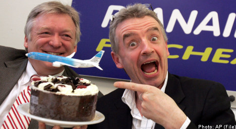 Swedish consumer group 'a bunch of idiots': Ryanair CEO