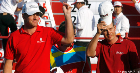 Sweden among favourites to claim World Cup of Golf title