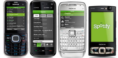 Spotify launches Symbian mobile app