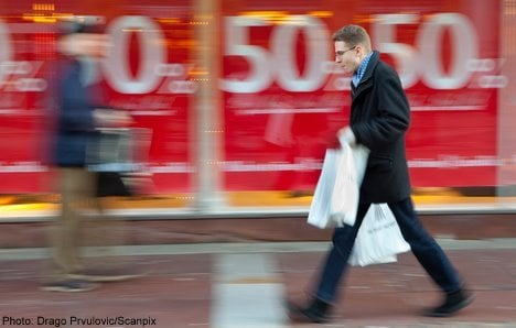 Post-Christmas sales give much needed boost