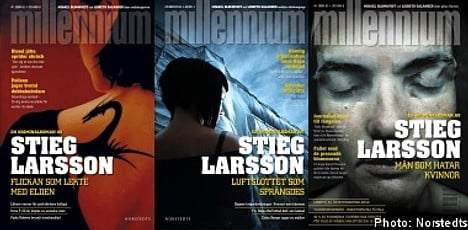 Larsson's partner 'didn't just proofread' trilogy