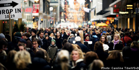 Fifth of Swedish population foreign