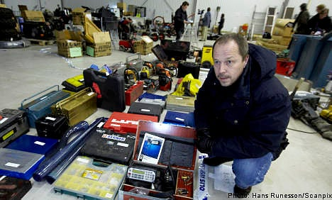 Police raid uncovers Aladdin's cave of stolen goods