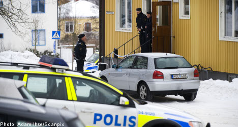 Police shoot student at Swedish college