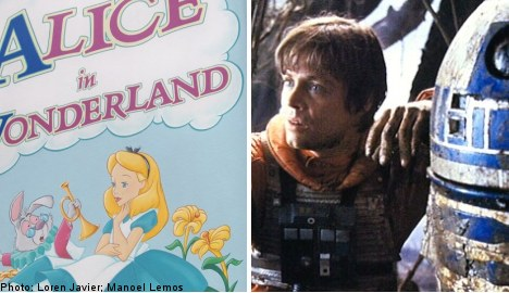 Alice and Lucas top Swedish name list