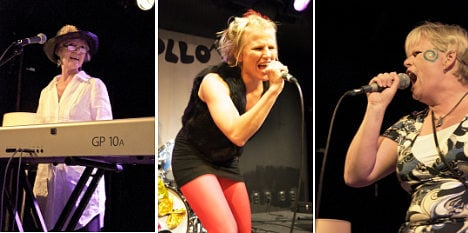 Swedish rock mums roll up for riff camp