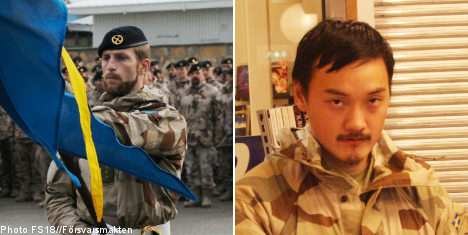 Swedish soldiers killed by 'Afghan police'