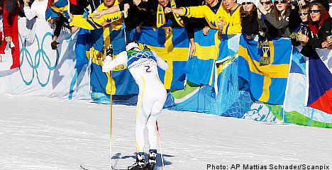 Swedes dominate in men's cross-country
