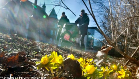 Spring comes to southern Sweden