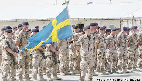 Swedish Armed Forces cuts troops and bases