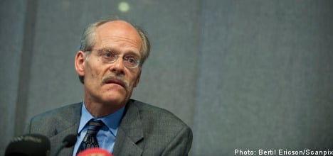 Riksbank chief misses rate meeting