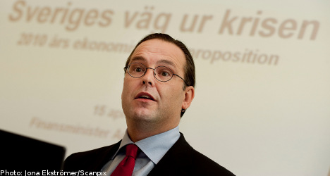 Borg cuts GDP forecast in spring budget