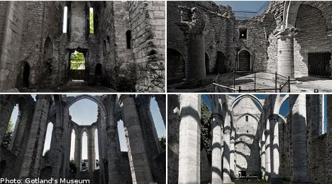 Gotland ruins open up for weddings