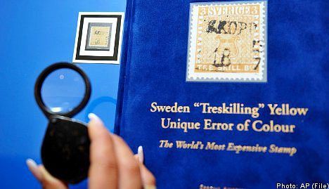 Swedish stamp remains world's most expensive