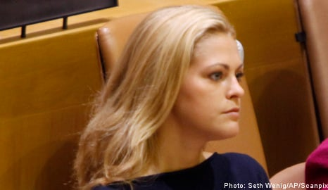 Princess Madeleine takes time out after split