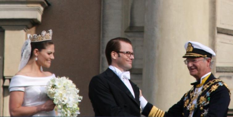 Royal Palace<br>Words of encouragement from the king to his new son-in-lawPhoto: Anastasia Pirvu