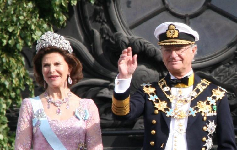 Royal Palace<br>King Carl Gustaf and Queen SilviaPhoto: Anastasia Pirvu