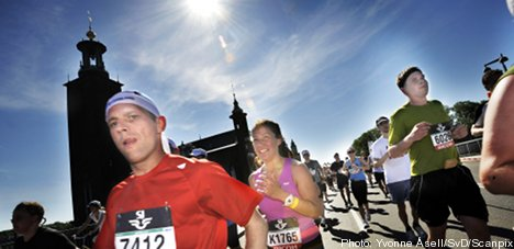 Swedes are exercising more