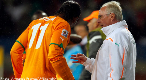 Sven 'not completely happy' with draw