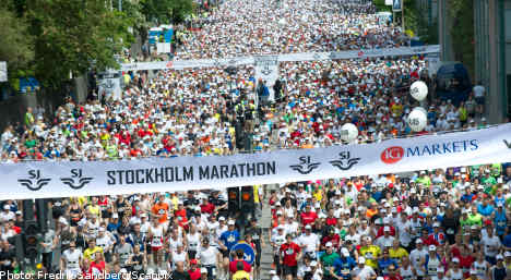 Lagat and Andersson win Stockholm Marathon