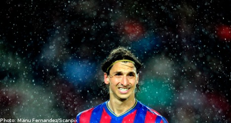 Ibrahimovic sale not ruled out by Barcelona