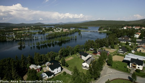 Hundreds of Russians drawn to Swedish town