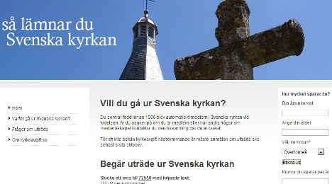 Church of Sweden warns of SMS opt-out service