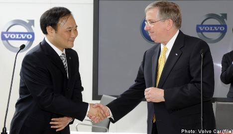China approves Geely's takeover of Volvo