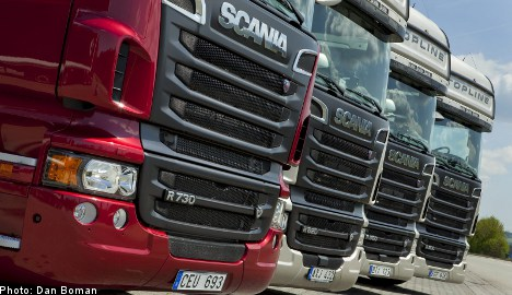 Truckmaker Scania posts surprise Q2 results