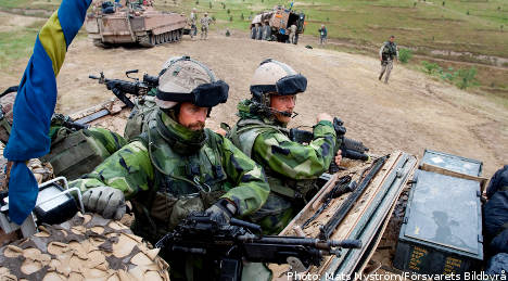 Swedish Afghanistan force can use lethal fire