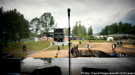 Ticket holders miss out after Hultsfred closure
