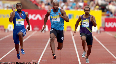 Powell pulls out of Stockholm sprint clash