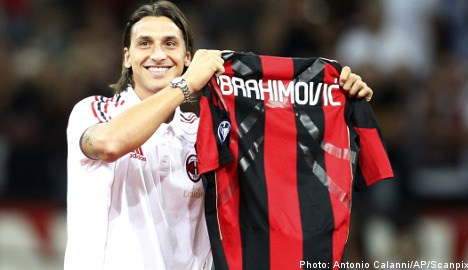 Inter boss plays down rival's Ibra signing
