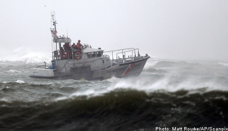 Swedish sailor missing after tropical storm Earl