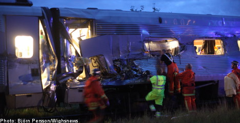 Crashed train 'may have been speeding'