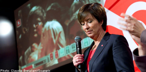Sahlin admits defeat in 'very bad' election