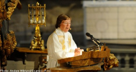 Bishop's sermon at the opening of the Riksdag